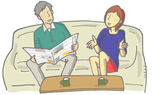 家族関係はうまくいっていますか?―結婚している人の場合