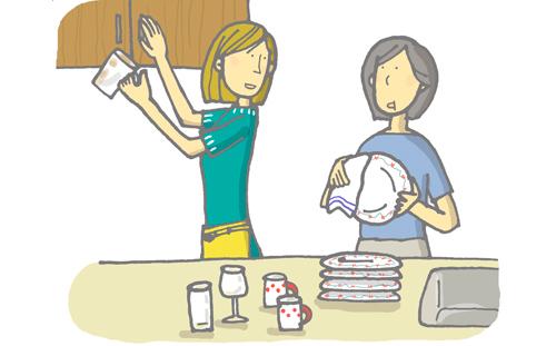 家族関係はうまくいっていますか?―独身の人の場合